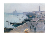 Venice in Grey Weather Giclee Print by John Singer Sargent