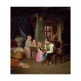 Grandpa's Favourite Giclee Print by Friedrich Edouard Meyerheim