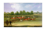 St Albans Tally-Ho Stakes, May 22nd 1834 Giclee Print by James Pollard