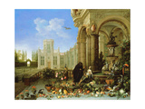 Vertumnus and Pomona Giclee Print by Jan Van, The Elder Kessel