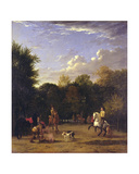The Riding School Giclee Print by Karel Dujardin