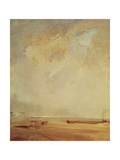 View of the Coast of Normandy Giclee Print by Richard Parkes Bonington