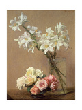 Lilies in a Vase, 1888 Giclee Print by Henri Fantin-Latour