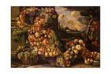 Seated Figure of Summer, 1573 Giclee Print by Giuseppe Arcimboldo