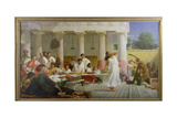 Herod's Birthday Feast, 1868 Giclee Print by Edward Armitage