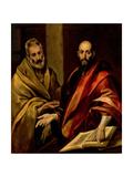 The Apostles St. Peter and St. Paul Giclée-tryk af  El Greco