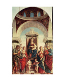 Madonna and Child with Saints Giclee Print by Giovanni Battista Cima Da Conegliano