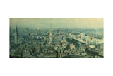 View of London from Monument Looking East, 1848 Giclee Print by Carl Haag