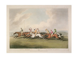 "Horse Racing from ""Orme's Collection of British Field Sport Prints"", 1807 Giclee Print by Samuel Howett"