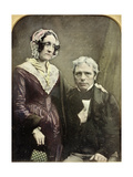 Michael and Sarah Faraday, 1840s-50s Giclee Print