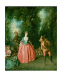 The Dance Giclee Print by Nicolas Lancret