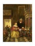 The Letter, 1853 Giclee Print by Jean Plattel