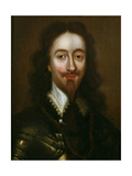 Portrait of Charles I (1600-49) Giclee Print by William Dobson
