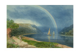 Rainbow on the River Avon, C.1825 Giclee Print by Samuel Jackson