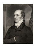 George Canning, Prime Minister, Engraved by W. Holl, from 'National Portrait Gallery, Volume II',… Giclee Print by Thomas Stewardson