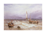 Seascape Giclee Print by Myles Birket Foster