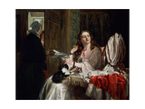 St. Valentine's Morning, 1863 Giclee Print by John Callcott Horsley