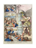 John Bull at the Italian Opera, 1811 Giclee Print by Thomas Rowlandson