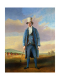 'Old Alick', Alick Brotherton (1756-1840) the Holemaker of Royal Blackheath Golf Club, C.1835 Giclee Print by R.S.E Gallen