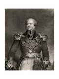 Sir Archibald Campbell, 1st Baronet, Engraved by John Cochran (Fl.1821-65), from 'National… Giclee Print by John Wood