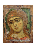 Archangel Gabriel (Angel with Golden Hair) Russian Icon, 12th Century Giclee Print
