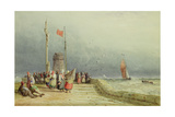 Dieppe Giclee Print by David Cox