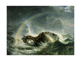 The Shipwreck, 1859 Giclee Print by Francis Danby