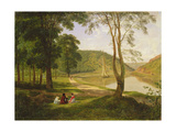 View of Avon Gorge, 1822 Giclee Print by Francis Danby