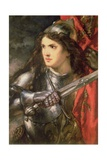 Joan of Arc (C.1412-31) Giclee Print by Sir John Gilbert