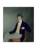 Portrait of a Gentleman in a Yellow Waistcoat, C.1795 Giclee Print by James Sharples