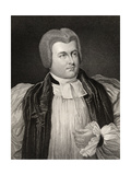 Robert James Carr, Bishop of Chichester and Worcester, Engraved by T.A. Dean (Fl.1773-1840), from… Giclee Print by Sir George Hayter