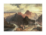 Summer, Amphitheatre, Colorado River, Utah Territory Giclee Print by Thomas Moran