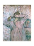 La Toilette, 1891 Lámina giclée por Henri de Toulouse-Lautrec