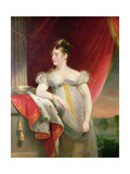 Princess Charlotte (1796-1817) before 1817 Giclee Print by James Lonsdale