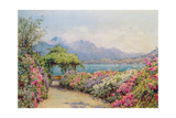 Lake Como from the Villa Carlotta Giclee Print by Ernest Arthur Rowe