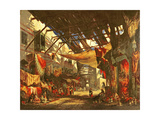 The Carpet Bazaar, Cairo, 1843 Giclee Print by William James Muller