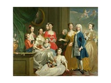 The Family of Eldred Lancelot-Lee, 1736 Giclee Print by Joseph Highmore