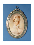 Miniature of a Young Woman Giclee Print by M Rouvier