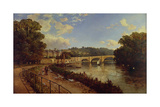 Richmond Upon Thames Giclee Print by Edmund John Niemann