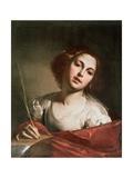 St. Catherine of Alexandria, Late 1640s Giclee Print by Bernardo Cavallino