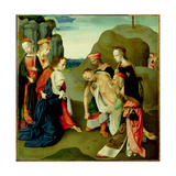 The Lamentation over the Dead Christ Giclee Print by  Master of the Virgo Inter Virgines
