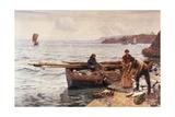 Crabber's Bait Impression giclée par Charles Napier Hemy