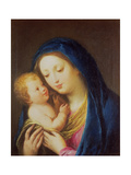 Madonna and Child Giclee Print by Francesco Zuccarelli