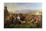 A Scottish Fair Giclee Print by John Phillip