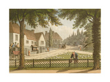 View from My Own Cottage in Essex (Before) from 'Fragments on the Theory and Practice of… Giclee Print by Humphry Repton