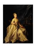 Portrait of Ekaterina Molchanova (1758-1809) 1776 Giclee Print by Dmitri Grigor'evich Levitsky