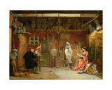 The Artist's Studio Giclee Print by James Digman Wingfield