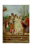The Revolutionist's Bride, Paris, 1799 Giclee Print by Frederik Hendrik Kaemmerer