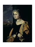 Portrait of Ekaterina Avdulina, Nee Yakovleva (1788-1832) 1822-23 Giclee Print by Orest Adamovich Kiprensky