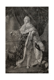 Portrait of LouisXVI (1754-93) Giclee Print by Antoine Francois Callet